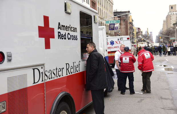 American Red Cross takes on medical centres in TM claim