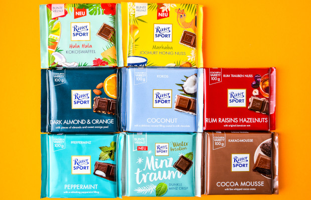 Ritter Sport prevails in Milka square chocolate suit