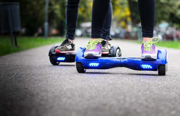 Chinese and US companies battle over hoverboard patent