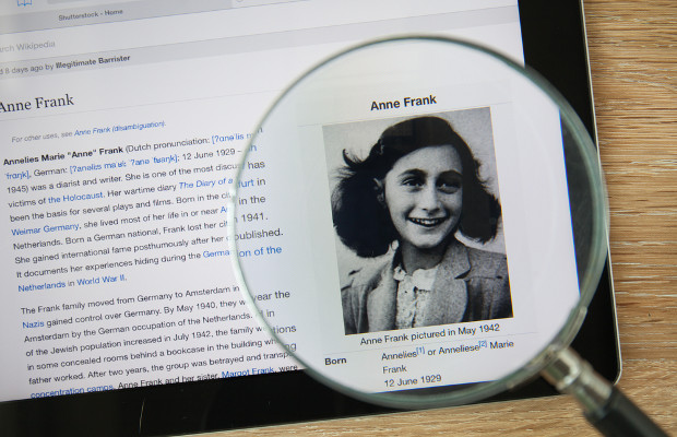 Anne Frank diary removed from Wikisource