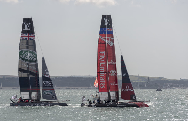 UK America's Cup team changes name after 'Team GB' clash