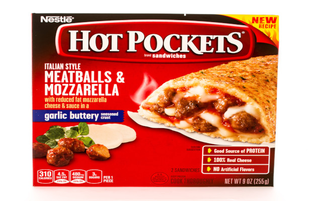 Nestlé takes on competitor over Hot Pockets TM