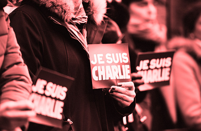 Je suis Charlie: jumping on the bandwagon