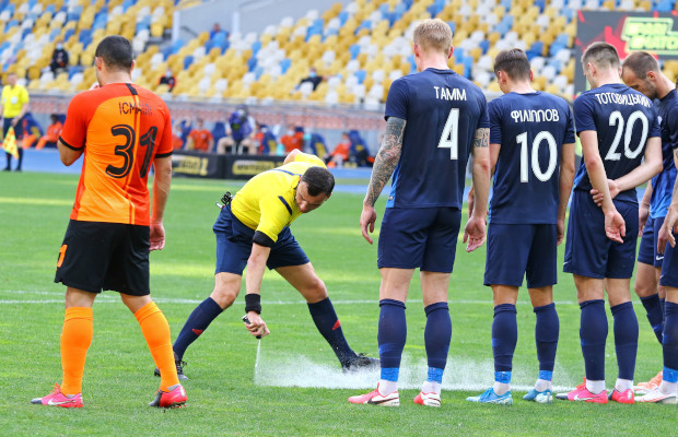 FIFA claims vanishing spray patent win