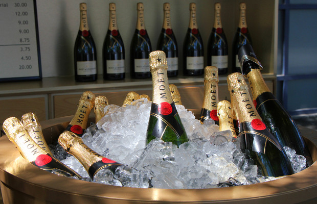 Italian police seize 9,000 fake Moët & Chandon bottles from shed