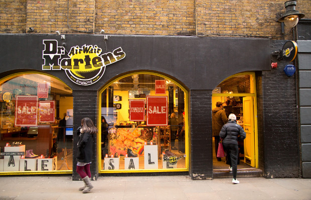 Dr Martens says consumers can help to detect fakes