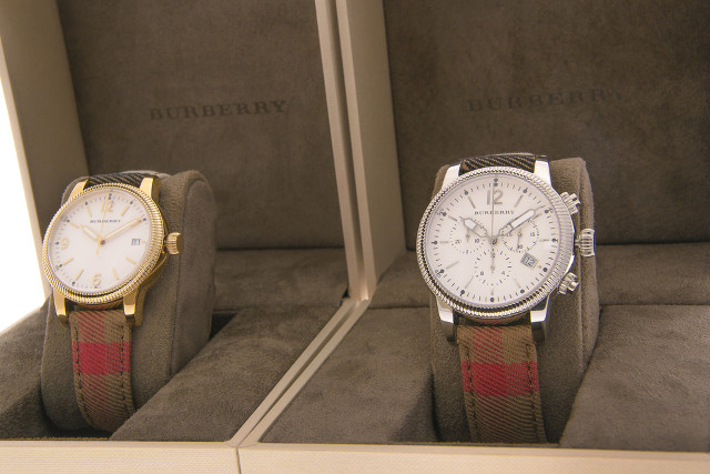 Czech customs seize counterfeit Burberry watches