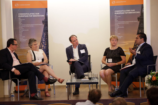 Novartis and Philips talk patents and innovation at Thomson Reuters event