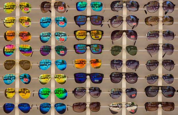 Counterfeit sunglasses seized in Thailand