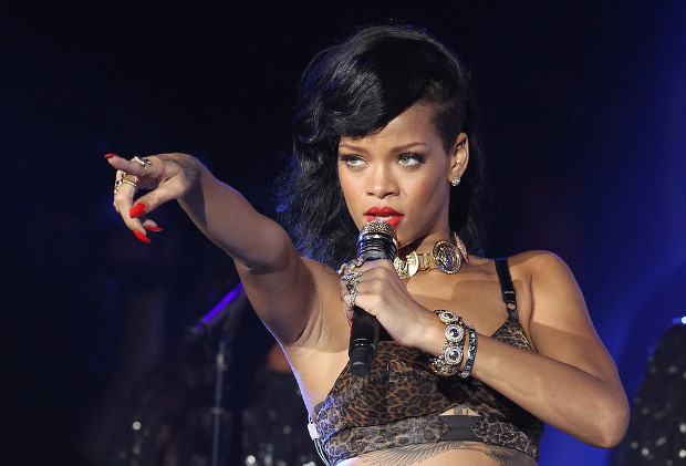 Rihanna victorious in second round of image battle