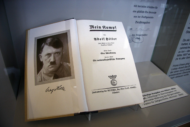 Mein Kampf set for re-publication after copyright expiry