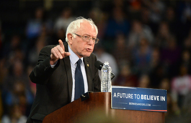 Bernie Sanders campaign embroiled in trademark row