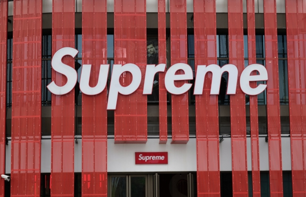 Supreme faces copyright action over monk's image