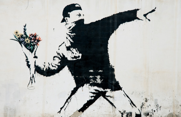Banksy facing potential cancellation of 'flower bomber' mark