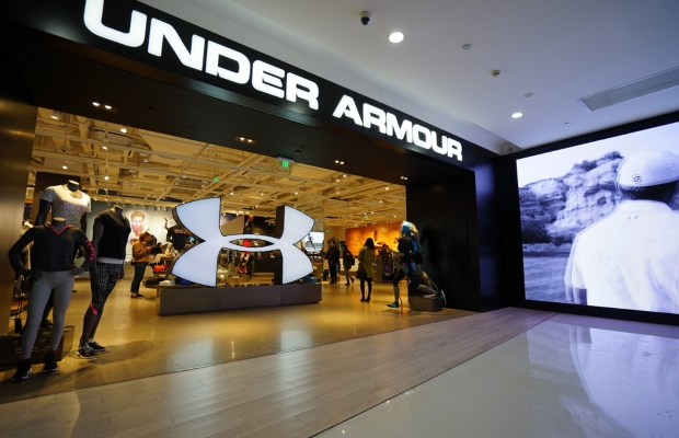 Under Armour accuses sportswear brand of copying logo