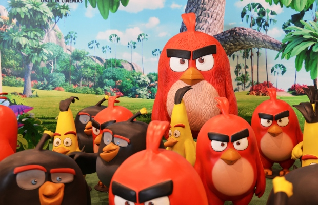 'Angry Birds' creator angry over restaurant's TM