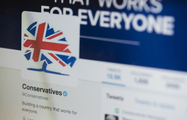 Facebook removes controversial Tory advert on copyright grounds