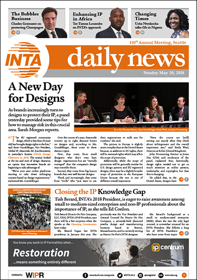 INTA Day Two Sunday 2018 PDF Newsletter